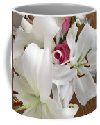 Lilies And Roses Coffee Mug