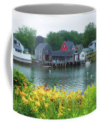 Lilies By The Bay, Cape Porpoise Me Coffee Mug