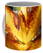 Lilies Glowing Orange Lily Flower Floral Art Print Canvas Baslee Troutman Coffee Mug