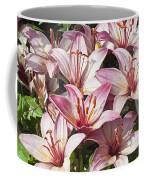 Lilies In Pink Coffee Mug