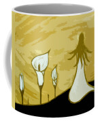 Lilies Of The Field 3 Coffee Mug