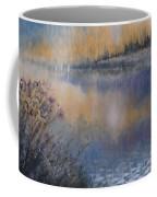 Lilies' Violet, Original Watercolor Coffee Mug