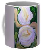 Lilies With Chiffon Coffee Mug