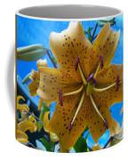 Lilium Yellow Coffee Mug