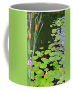 Lillypads And Cattails Coffee Mug