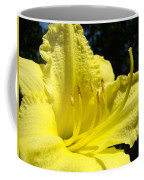 Lily Flower Artwork Yellow Lilies 1 Giclee Art Prints Baslee Troutman Coffee Mug