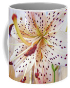 Lily Flower White Lilies Art Prints Baslee Troutman Coffee Mug