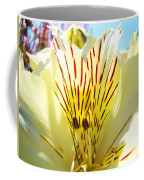 Lily Flowers Art Prints Yellow Lillies 2 Giclee Prints Baslee Troutman Coffee Mug