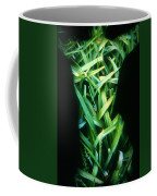 Lily Leaves Coffee Mug by Arla Patch