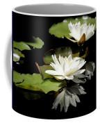 Lily Of The Lake Watercolor Coffee Mug