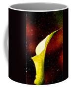 Lily On Red Coffee Mug