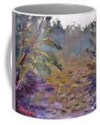 Lily Pads On A Pond, Overcast Sky 3pm Coffee Mug