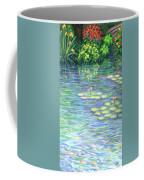 Lily Pads Triptych Panel Three Of Three Coffee Mug