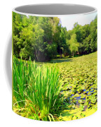 Lily Pond #4 Coffee Mug
