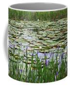 Lily Pond Panorama Coffee Mug