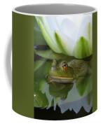 Lilyfrog - Frog With Water Lily Coffee Mug