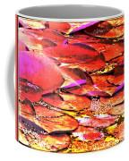 Crimson Lilypads Floating.. Coffee Mug