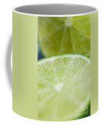 Lime Cut Coffee Mug