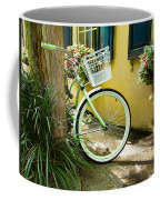 Lime Green Bike Coffee Mug