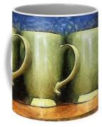Lime Green Cups Coffee Mug