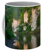 Limestone Bluffs Along Upper Iowa Coffee Mug