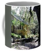 Limestone Home In The Trees Coffee Mug