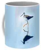 Lesser Yellow Legs Water Shadow Coffee Mug