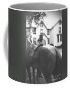 Lincoln Arrives At The Cottage Coffee Mug
