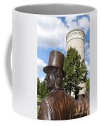 Lincoln At The Tower Coffee Mug