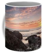 Lincoln City Beach Sunset - Oregon Coast Coffee Mug