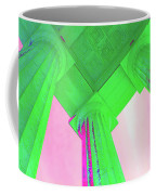 Lincoln Column Green Coffee Mug