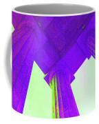 Lincoln Column Purple Coffee Mug