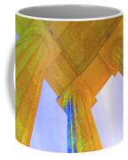Lincoln Column Yellow Coffee Mug