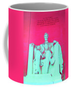 Lincoln In Red Coffee Mug