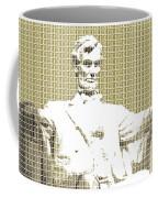 Lincoln Memorial - Gold Coffee Mug