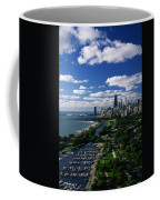 Lincoln Park And Diversey Harbor Coffee Mug