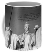 Lincoln Statue Coffee Mug