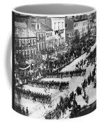 Lincolns Funeral Procession, 1865 Coffee Mug