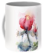 Linda's Rose Watercolor Coffee Mug