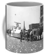 Lindbergh Parade, 1927 Coffee Mug