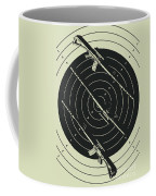 Line Art Rifle Range Coffee Mug