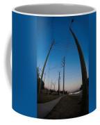 Line Drive Coffee Mug