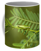 Linear Winged Grasshopper Coffee Mug