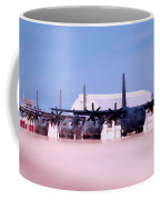 Lined Up And Ready Coffee Mug