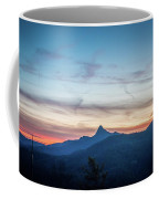 Linville Gorge Wilderness Mountains At Sunset Coffee Mug