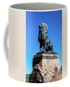 Lion At San Xavier Mission - Tucson Arizona Coffee Mug