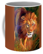 Lion At Sunset Coffee Mug
