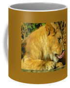 Lion Cub - What A Yummy Snack Coffee Mug