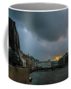 Lion Dock  Coffee Mug