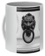 Lion Door Knocker In Brussels Coffee Mug